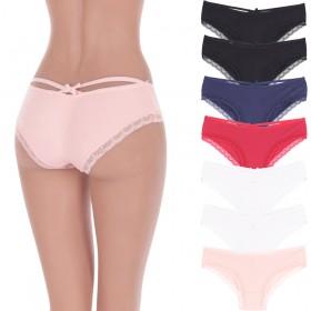 komplet 8 szt. sexy FIGI, majtki KORONKOWE damskie kolory